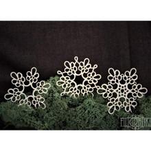 Filigranki Laser Cut Decorative Chipboards for Handicraft- Lace Doily