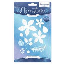 Hunkydory Moonstone Pretty Poinsettia - Cutting Dies MSTONE040