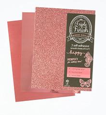 HOTP Triple Finish Rose Gold- 3 Self-Adhesive Sheets 4441