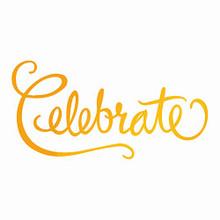 Artdeco Creations Ultimate Crafts Classic Sentiments Hotfoil Plate 2.9'X1.5'-Celebrate