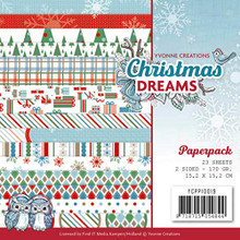 Yvonne Creations Paperpack Christmas Dreams 6x6 Sheets YCPP10019