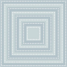Tutti Designs - Cutting Dies - Nesting Dotted Squares