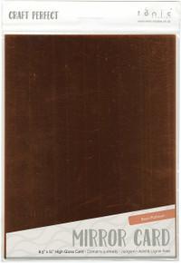 Tonic Studios 9456E Mirror Glossy Cardstock, Rose/Platinum