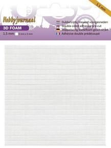 Hobbyjournaal Foam Squares 5x5 mm- 1.5mm deep