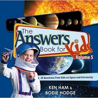 Answers Book for Kids 5: 22 Questions for Kids on Space and Astronomy