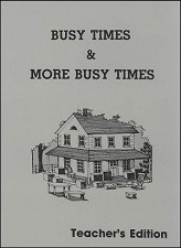 Busy Times/More Busy Times Teacher