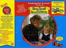 Sing, Spell, Read and Write Kindergarten & Level 1 Combo Kit