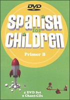 Spanish for Children B DVD and Chant CD