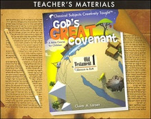 God's Great Covenant, OT 1 Teacher