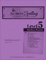 All About Spelling Level 5 Student Material Packet
