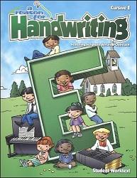 Reason for Handwriting  E