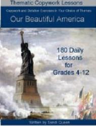 Copywork - Our Beautiful America