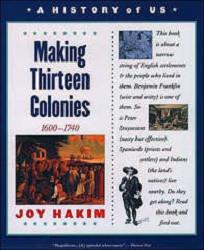 History of US # 2: Making Thirteen Colonies