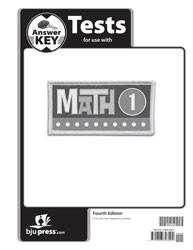 Math 1 Test Key 4th Edition