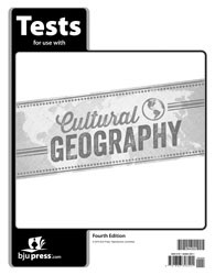 Cultural Geography Tests 4th Edition