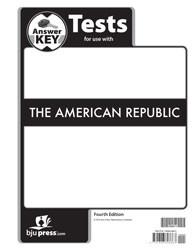 American Republic Test Key 4th Edition