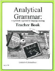 Analytical Grammar High School Teacher's Book