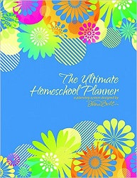 Ultimate Homeschool Planner - Blue