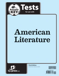 American Literature Test Key 3rd Edition
