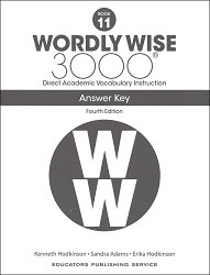Wordly Wise 3000 Grade 11 Key 4th Edition