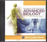 Apologia Exploring Creation with Advanced Biology - Human Body MP3 Audio CD