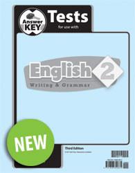 English 2 Test Answer Key (3rd Ed.)