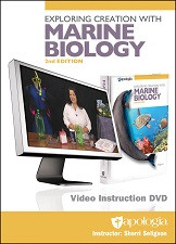 Apologia Exploring Creation with Marine Biology Instructional DVD 2nd Edition