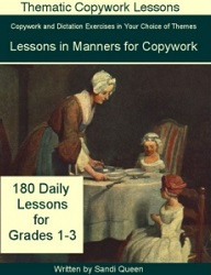 Copywork - Lessons in Manners