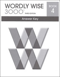 Wordly Wise 3000 Grade  4 Key