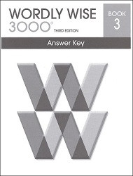 Wordly Wise 3000 Grade  3 Key
