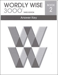 Wordly Wise 3000 Grade  2 Key