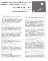 Story of the U.S.A. #4: Modern America Answer Key
