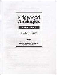 Ridgewood Analogies Book 4 Key