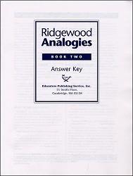 Ridgewood Analogies Book 2 Key