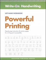 Powerful Printing Workbook (Left-Hand)