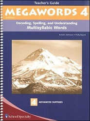 Megawords 4 Teacher's Guide (2nd Edition)