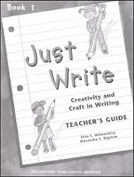 Just Write Book 1 Answer Key