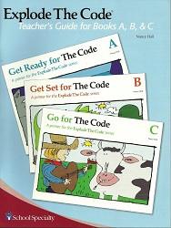 Explode the Code Teacher A-C