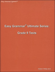 Easy Grammar Ultimate Series Grade  9 Tests