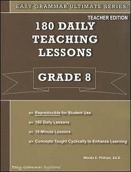 Easy Grammar Ultimate Series Grade  8