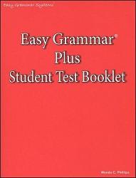 Easy Grammar Plus Test