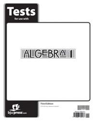 Algebra 1 Test (3rd Ed.)