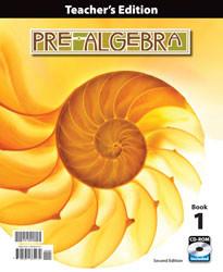 Pre-Algebra Teacher's Edition (2nd ed.)