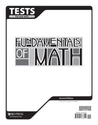 Fundamentals of Math Test (2nd Ed.)