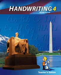 Handwriting 4 Teacher's Edition (2nd Ed.)