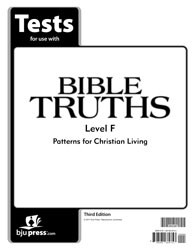 Bible Truths Level F Test (3rd Ed.)