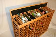 44-Bottle Modular Add-On Displays Top View