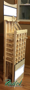 Ice Cider 28-Bottle Floor Display (Pine) (RWP294)