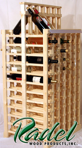 144-Bottle Double-Sided Display