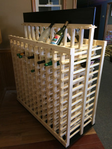 Portable 264-Bottle Double-Sided Display